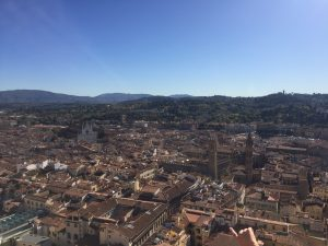 Views of Florence from The Duomo