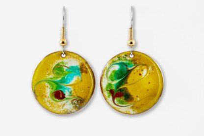 Summer Vibe large drop earrings