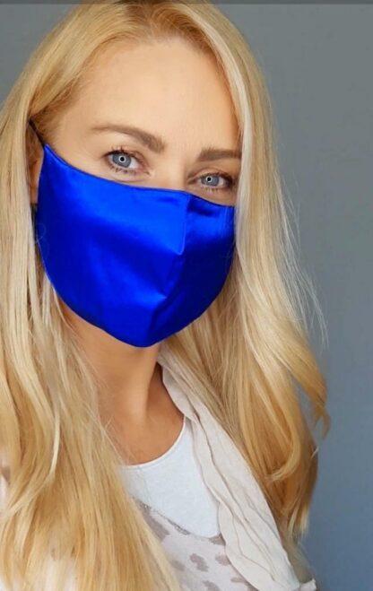 Cobalt blue mask