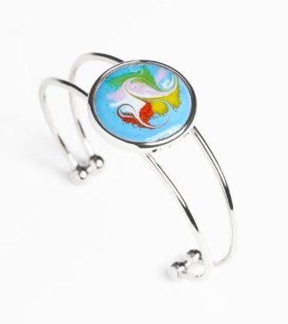 Turquoise large adjustable bracelet by Meab