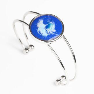 Wild Atlantic cobalt blue large bracelet by Meab