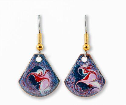 Derravaragh Bluebell Small Drop Earrings