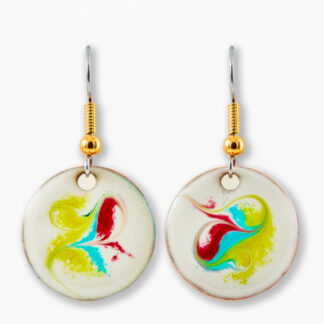 Leia small drop earrings