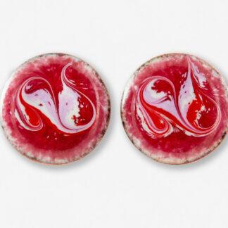 ruby slippers stud earrings
