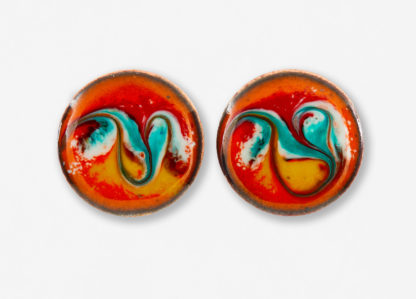 African Sun Stud Earrings