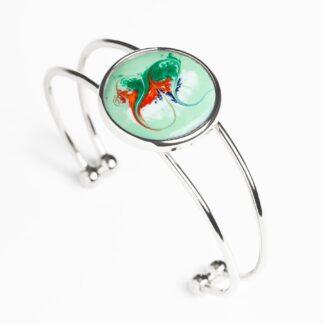 Celadon Green Large Adjustable Bracelet