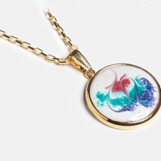 Khaleesi gold plated pendant