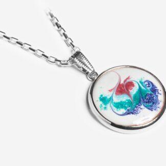 Khaleesi silver plated pendant