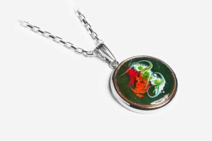 Melisandre silver plated pendant