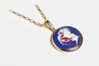Sansa gold plated pendant