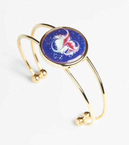 Sansa large gold plated bracelet