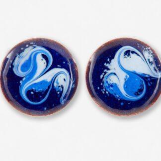Skellig Haze stud earrings