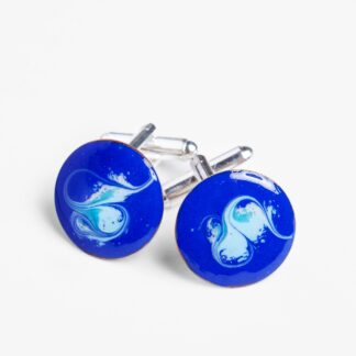 Wild Atlantic cuff links