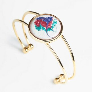 Khaleesi Large Gold Plated Bracelet