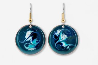 Children Of Lir Large Drop Earrings