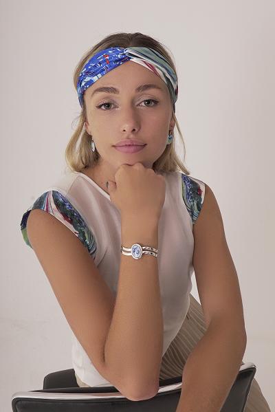 Capri wavy bracelet