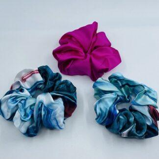 Meab Silk Scrunchies