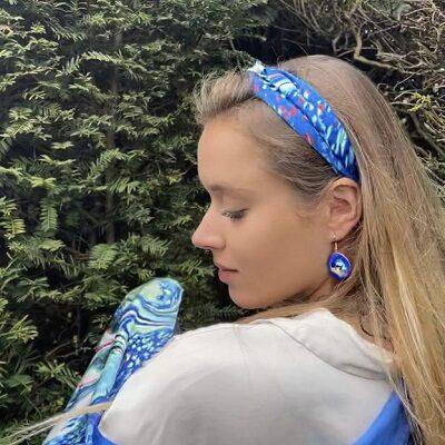 Wild Atlantic Silk Hairband by Meab